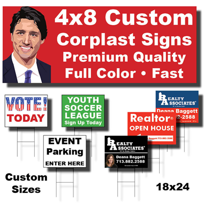 Corplast Yard/Campaign Signs