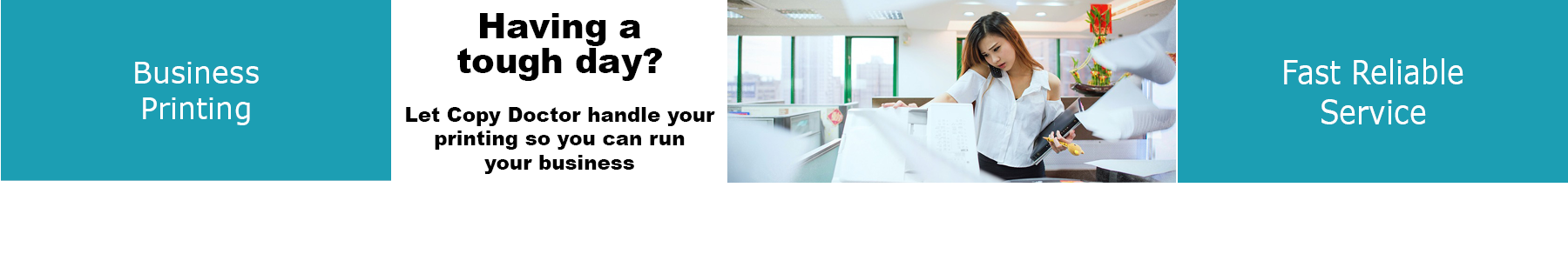 How much time do you spend trying to get your office equipment to print quality documents?